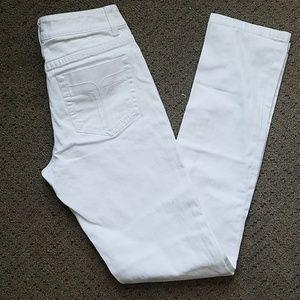 Trina turk white denim Jeans sz 2 nwot